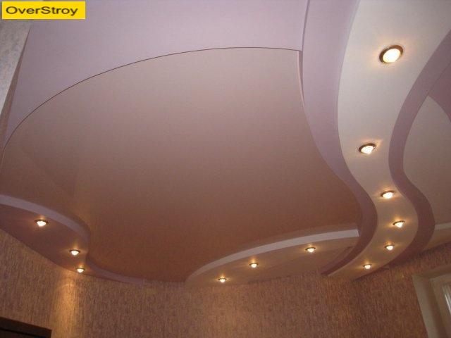 Эскизы потолков из гипсокартона