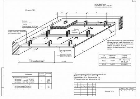 Чертежи (эскизы) по монтажу гипсокартонных потолков