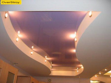 Потолки из гипсокартона: фото, дизайн