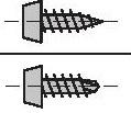 Шуруп TN 3,5х9,5 (со сверлом LB, острый конус LN)
