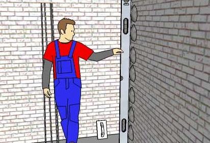 Штукатурка стен - оплата и приемка работ