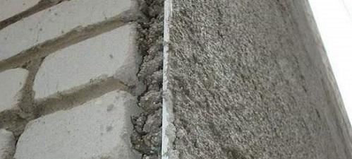 """Теплая"" штукатурка стен"