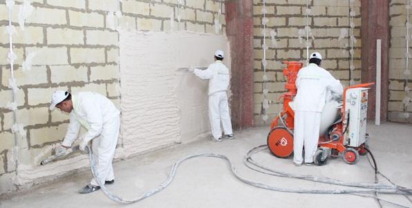 Штукатурка стен Минск - стоимость вручную и машинным способом